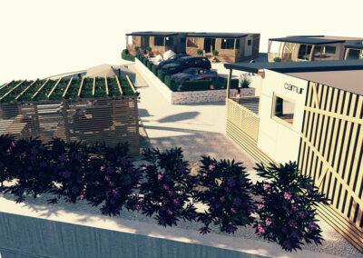 Boutique glamping Ante-Gojko - oleanders